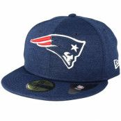Keps New England Patriots 59Fifty Shadow Tech Blue Fitted - New Era - Blå Fitted