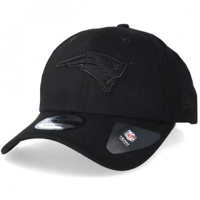 Keps New England Patriots 9Forty Black/Black Adjustable - New Era - Svart Reglerbar