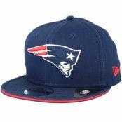 Keps New England Patriots Classic Tm Navy Snapback - New Era