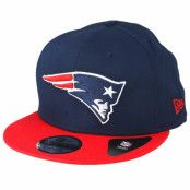 Keps New England Patriots Contrast Team 9Fifty Blue/Red Snapback - New Era