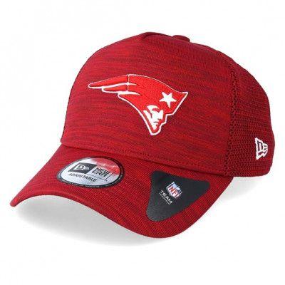 Keps New England Patriots Engineered Fit Aframe Red Adjustable - New Era - Röd Reglerbar