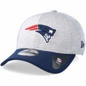 Keps New England Patriots Jersey Hex 39Thirty Grey/Navy Flexfit - New Era - Grå Flexfit
