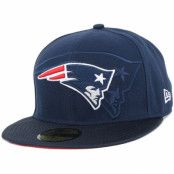 Keps New England Patriots NFL Sideline 59Fifty - New Era - Blå Fitted