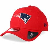 Keps New England Patriots Reverse Colour 9Forty Red Adjustable - New Era