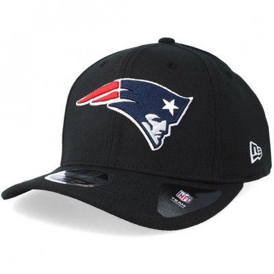 Keps New England Patriots Stretch Snap 9Fifty Black/White Snapback- New Era - Svart Reglerbar
