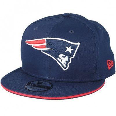 Keps New England Patriots Team Navy Snapback - New Era - Blå Snapback