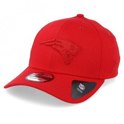 Keps New England Patriots Team Tonal 39Thirty Red Flexfit - New Era - Röd Flexfit