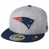 Keps New England Patriots 59Fifty Reflective Heather Grey Fitted - New Era