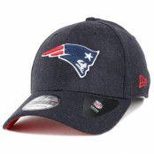 Kepsar New England Patriots Team Heather Navy 39Thirty - New Era