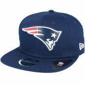 Keps New England Patriots Team Logo Weld Navy Snapback - New Era