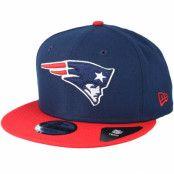 Keps New England Patriots Team Navy Snapback - New Era