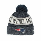 Mössa New England Patriots Sport Knit Black Pom - New Era