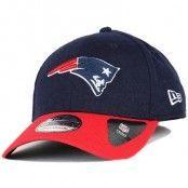 Kepsar New England Patriots Team Melton 39Thirty Flexfit - New Era