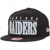 New Era - Oakland Raiders NFL Big Word 9Fifty (S/M)