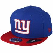 Keps New York Giants Contrast Team 9Fifty Blue/White/Red Snapback - New Era - Blå Snapback