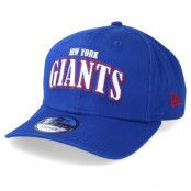 Keps New York Giants NFL Pre Curved 9Fifty Royal Adjustable - New Era - Blå Reglerbar