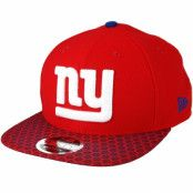 Keps New York Giants Sideline 9Fifty Red Snapback - New Era - Röd Snapback