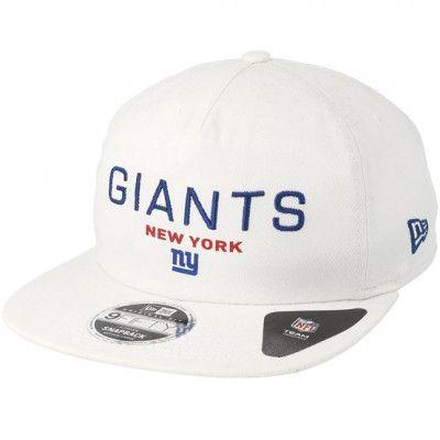 Keps New York Giants Statement 9Fifty White Snapback - New Era