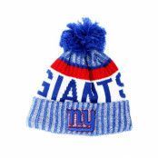 Mössa New York Giants Sport Knit Blue Pom - New Era - Blå Tofs