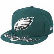 Keps Philadelphia Eagles 9Fifty NFL Draft 2019 Green Snapback - New Era - Grön Snapback