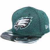 Keps Philadelphia Eagles Draft 2017 9Fifty Dark mint Snapback - New Era - Grön Snapback