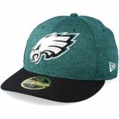 Keps Philadelphia Eagles Low Pro 59Fifty Teal/Black Fitted - New Era - Grön Fitted