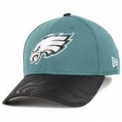 Keps Philadelphia Eagles NFL Sideline 39Thirty Flexfit - New Era - Grön Flexfit