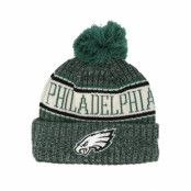 Mössa Philadelphia Eagles Sport Knit Green Pom - New Era - Grön Tofs