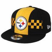 Keps Pittsburgh Steelers 9Fifty NFL Draft 2019 Yellow/Black Snapback - New Era - Svart Snapback