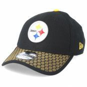 Keps Pittsburgh Steelers Sideline 39Thirty Black Flexfit - New Era
