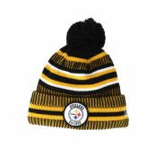Mössa Pittsburgh Steelers On Field 19 Sport Knit Yellow/Black Pom - New Era - Gul Tofs