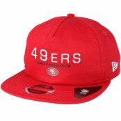 Keps San Francisco 49ers Statement 9Fifty Red Snapback - New Era - Röd Snapback
