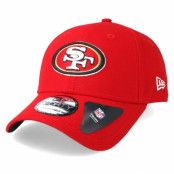 Keps San Francisco 49ers The League Red Adjustable - New Era - Röd Reglerbar