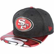 Keps San Francisco 49ers Draft 2017 9Fifty Heather Black Snapback - New Era - Svart Snapback