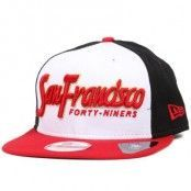 Keps San Francisco 49ers Seasonal Script 9Fifty Snapback - New Era - Svart Snapback