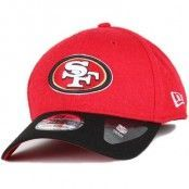 Keps San Francisco 49ers Team Melton 39Thirty Flexfit - New Era - Röd Flexfit