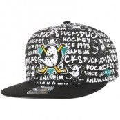 47 Brand - Anaheim Ducks Fat White Snapback