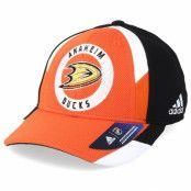 Keps Anaheim Ducks Echo Orange/Black Flexfit - Adidas - Orange Flexfit