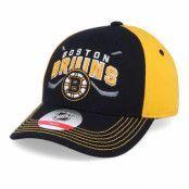 Keps Kids Boston Bruins Fan Faceoff Black/Yellow Adjustable - Outerstuff - Svart Barnkeps