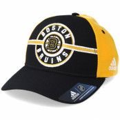 Keps Boston Bruins Strucured Black/Yellow Adjustable - Adidas - Svart Reglerbar