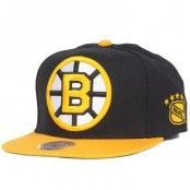 Mitchell & Ness - Boston Bruins XL Logo 2 Tone Snapback