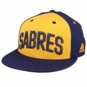 Keps Buffalo Sabres Flat Brim Yellow/Navy Snapback - Adidas - Gul Snapback
