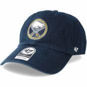 Keps Buffalo Sabres Clean up Navy Adjustable - 47 Brand - Blå Reglerbar