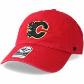 Keps Calgary Flames Clean up Red Adjustable - 47 Brand - Röd Reglerbar
