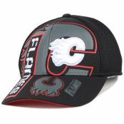 Keps Calgary Flames Cool N Dry Adjustable - Reebok