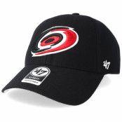 Keps Carolina Hurricanes Mvp Black Adjustable - 47 Brand - Svart Reglerbar