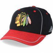 Keps Chicago Blackhawks Alpha Black/Red Flexfit - Adidas - Svart Flexfit