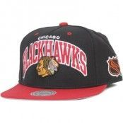 Keps Chicago Blackhawks Team Arch - Mitchell & Ness