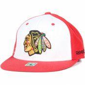 Keps Chicago Blackhawks Basic League Fitted - Reebok - Röd Fitted