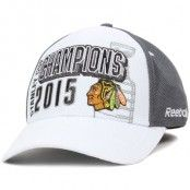 Reebok - Chicago Blackhawks Official Stanley Cup Champions Flexfit